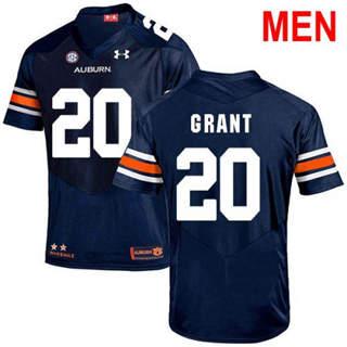 Men's Auburn Tigers #20 Corey Grant Navy 2019 College Football Jersey