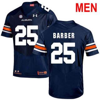 Men's Auburn Tigers #25 Peyton Barber Navy 2019 College Football Jersey