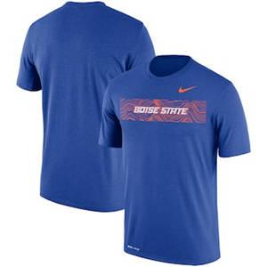 Men's Boise State Broncos  Sideline Seismic Legend Performance T-Shirt – Royal