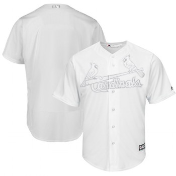 Men's Cardinals Blank White 2019 Players' Weekend Player Jersey