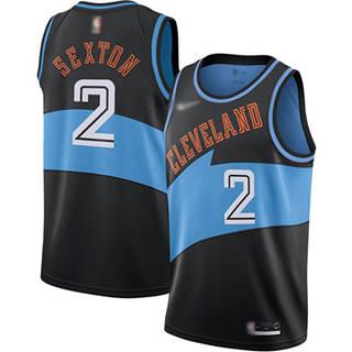 Men's Cavaliers #2 Collin Sexton Black Basketball Swingman Hardwood Classics Jersey