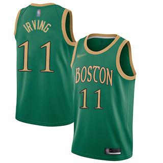 Men's Celtics #11 Kyrie Irving Green Basketball Swingman City Edition 2019-2020 Jersey