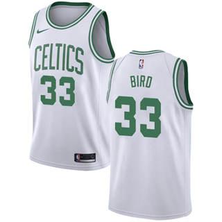 Men's Celtics #33 Larry Bird White Basketball Swingman Association Edition Jersey