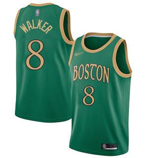 Men's Celtics #8 Kemba Walker Green Basketball Swingman City Edition 2019-2020 Jersey