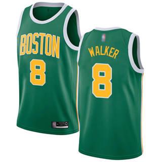 Men's Celtics #8 Kemba Walker Green Basketball Swingman Earned Edition Jersey