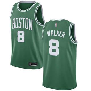 Men's Celtics #8 Kemba Walker Green Basketball Swingman Icon Edition Jersey