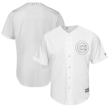 Men's Cubs Blank White 2019 Players' Weekend Player Jersey