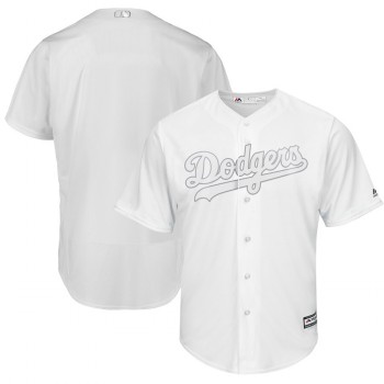 Men's Dodgers Blank White 2019 Players' Weekend Player Jersey