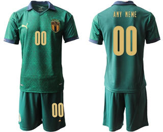 Men's Italy Personalized Third Soccer Country Jersey