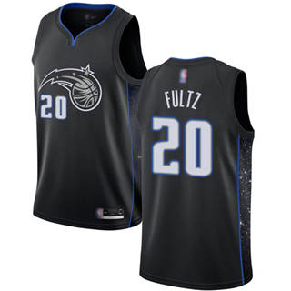 Men's Magic #20 Markelle Fultz Black Basketball Swingman City Edition 2018-19 Jersey