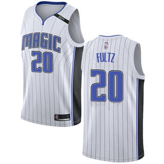 Men's Magic #20 Markelle Fultz White Basketball Swingman Association Edition Jersey