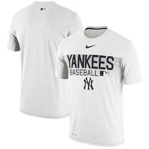 Men's New York Yankees   Collection Legend Team Issued Performance T-Shirt - White