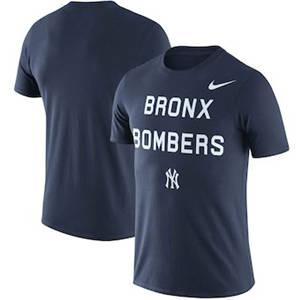 Men's New York Yankees  Bronx Local Phrase Performance T-Shirt – Navy