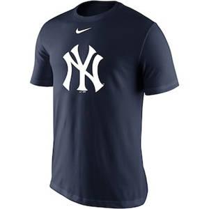Men's New York Yankees  Legend Batting Practice Primary Logo Performance T-Shirt – Navy