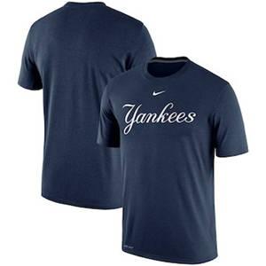 Men's New York Yankees  Legend Primary Logo Performance T-Shirt – Navy