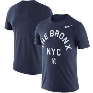 Men's New York Yankees  NYC Local Phrase Performance T-Shirt – Navy