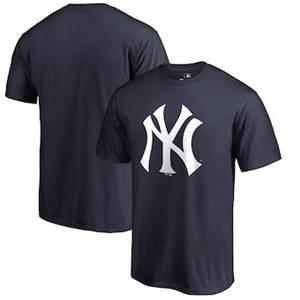 Men's New York Yankees Primary Logo T-Shirt - Navy
