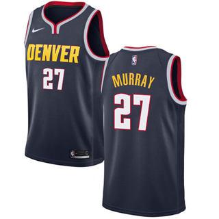 Men's  Denver Nuggets #27 Jamal Murray Navy Basketball Swingman Icon Edition Jersey