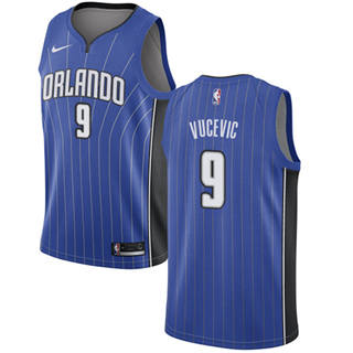 Men's  Orlando Magic #9 Nikola Vucevic Royal Basketball Swingman Icon Edition Jersey