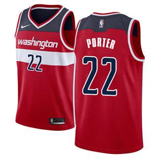 Men's  Washington Wizards #22 Otto Porter Red Basketball Swingman Icon Edition Jersey