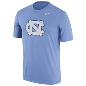 Men's North Carolina Tar Heels  Logo Legend Dri-FIT Performance T-Shirt - Light Blue