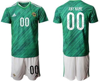 Men's Northern Ireland Personalized Home Soccer Country Jersey