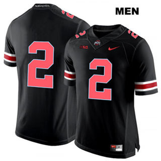 Men's Ohio State Buckeyes #2 Chase Young Jersey Black Pink No Name NCAA