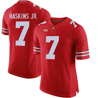 Men's Ohio State Buckeyes #7 Dwayne Haskins Jr. Red NCAA Football Jersey 2