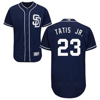 Men's Padres #23 Fernando Tatis Jr. Navy Blue Flexbase  Collection Stitched Baseball Jersey