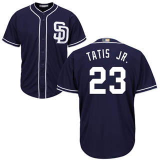 Men's Padres #23 Fernando Tatis Jr. Navy Blue New Cool Base Stitched Baseball Jersey