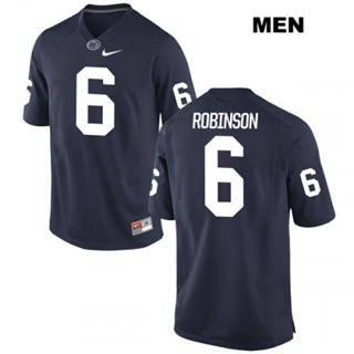Men's Penn State Nittany Lions #6 Andre Robinson NCAA Football Jersey Navy