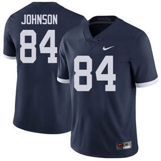 Men's Penn State Nittany Lions #84 Juwan Johnson Navy Football Jersey