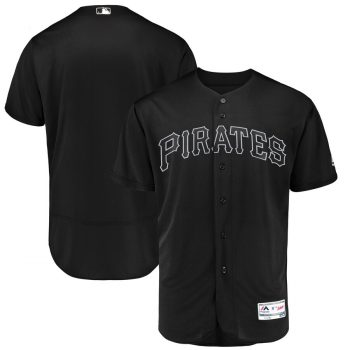Men's Pirates Blank Black 2019 Players' Weekend  Player Jersey