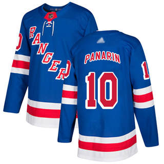Men's Rangers #10 Artemi Panarin Royal Blue Home  Stitched Hockey Jersey