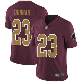 Men's Redskins #23 Quinton Dunbar Burgundy Red Alternate Stitched Football Vapor Untouchable Limited Jersey