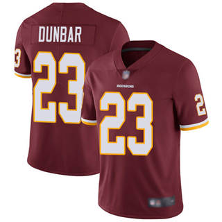 Men's Redskins #23 Quinton Dunbar Burgundy Red Team Color Stitched Football Vapor Untouchable Limited Jersey