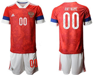 Men's Russia Personalized Home Soccer Country Jersey