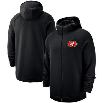 Men's San Francisco 49ers Team Logo Full-Zip Pullover Hoodie - Black