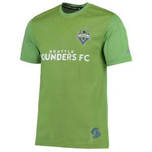 Men's Seattle Sounders FC  climalite Jersey T-Shirt - Rave Green