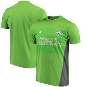 Men's Seattle Sounders FC  climalite T-Shirt - Rave Green
