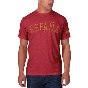 Men's Spain '47 Country Scrum Crew T-Shirt - Red