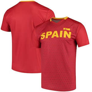 Men's Spain National Team Federation T-Shirt - Red