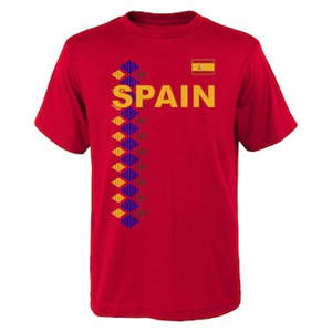 Men's Spain National Team One Team T-Shirt – Red