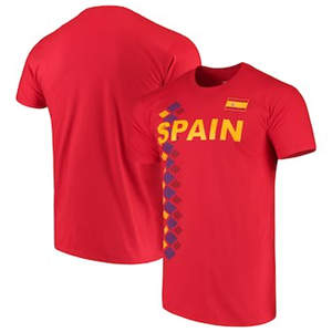 Men's Spain National Team Red One Team T-Shirt