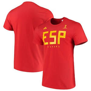 Men's Spain National Team  FIFA World Cup Team Pride T-Shirt - Red