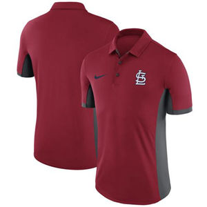 Men's St. Louis Cardinals  Red Franchise Polo Shirt