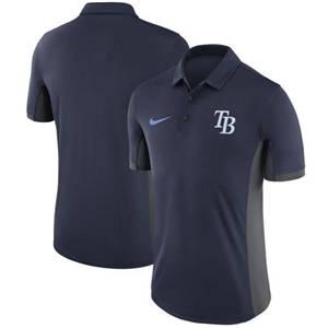 Men's Tampa Bay Rays  Navy Franchise Polo Shirt