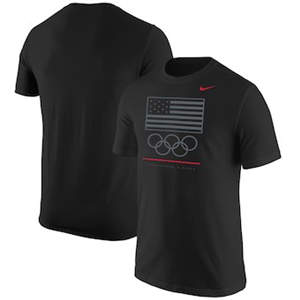 Men's Team USA  Core Cotton T-Shirt – Black