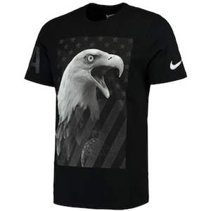 Men's Team USA  Eagle T-Shirt - Black
