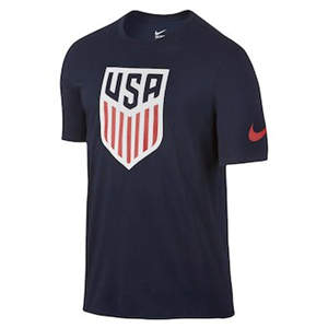 Men's Team USA  Soccer Crest T-Shirt - Navy